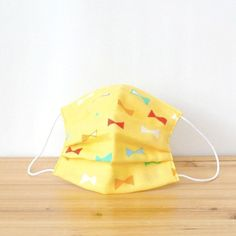 Colorful ribbon is very cute!!  TEMARIYA masks are all hand made with soft, skin-friendly double cotton gauze. It's three-dimentional cutting to f...