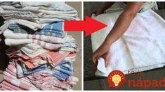 Bývalá chyžná z hotela nikdy nevyhadzuje staré uteráky, ani tie poškodené: Keď to uvidíte, nabudúce si dobre rozmyslíte, čo s nimi spravíte vy! Keds, Diy And Crafts, T Shirts For Women, Handmade, Hand Made, Handarbeit
