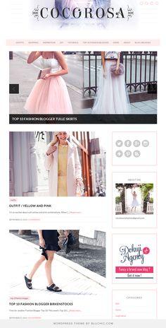 81 best bluchic themes showcase images on pinterest wordpress