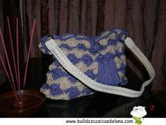 Bolso de ganchillo hecho a mano by BulldoZ, Cosicas de lana