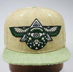 Flying Third Eye Hat (Hemp)