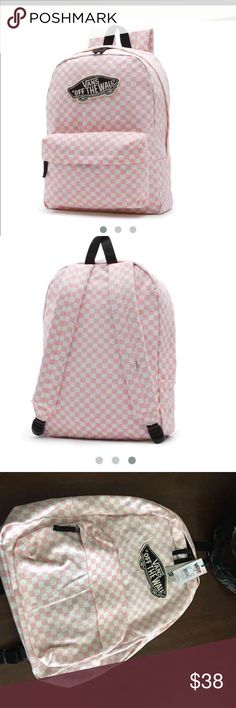 Vans backpack Light pink color  Vans Bags Backpacks