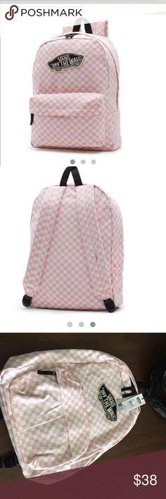 Vans backpack Light pink color  Vans Bags Backpacks