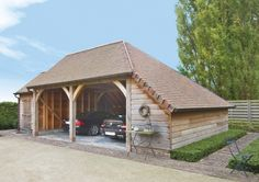 Houten carport op maat - Woodarts