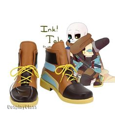 Undertale Hearts, Undertale Sans, Sans Cosplay, Undertale Pictures, Cosplay Boots, Long Boots, Brown Shoe, Types Of Shoes, Cosplay Costumes