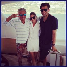 Olivia Palermo and Johannes Huebl in Mykonos l August, 2013