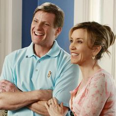 Tom and Lynette Scavo from Desperate Housewives (Doug Savant and Felicity Huffman)