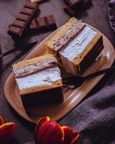 Bake Sale Recipes, Cake Recipes, Dessert Recipes, Dobos Torte Recipe, Poppy Cake, Hungarian Recipes, Cake Bars, Cute Food, Delish