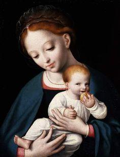 Virgin and Child - Cleve, Cornelis van -