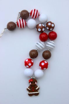 Hey, I found this really awesome Etsy listing at https://www.etsy.com/listing/170327301/christmas-chunky-necklace-girls