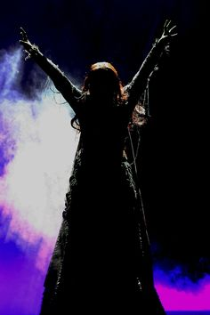 What an awesome picture of Eden Espinosa as Elphaba in the hit musical Wicked.