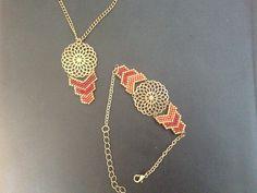 Collier en perles de rocaille miyuki delicat 11/0  (perles de qualité)
