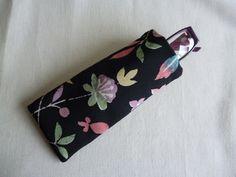 Kimono silk glasses case