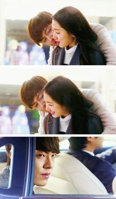 Ohh so broken heart,poor woo bin Heirs Korean Drama, Korean Drama Stars, Watch Korean Drama, Korean Star, The Heirs, Korean Dramas, Choi Jin Hyuk, Kang Min Hyuk, Lee Min Ho Kiss
