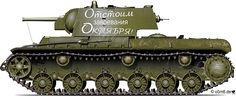 Engines of the Red Army in WW2 - KV-1 Model 1941 Heavy Tank