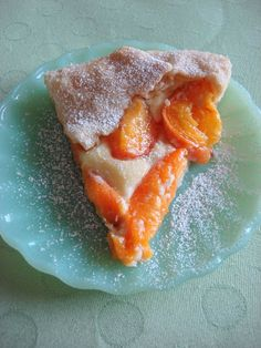Half Baked: Apricot, Almond, Cream Cheese Crostata