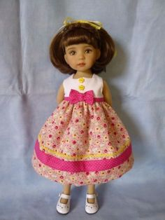 """Summer-Time-by-RRS-for-13"""" Dianna-Effner-Little-Darling-Doll"""