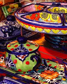 Bazaar del Mundo in old San Diego. This is where I fell in love with colorful kitchenware!