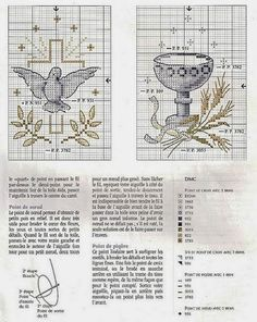 The Pepper House: First Communion in Cross Stitch Just Cross Stitch, Cross Stitch Baby, Cross Stitch Charts, Cross Stitching, Cross Stitch Embroidery, Embroidery Patterns, Wedding Cross Stitch Patterns, Première Communion, Graph Paper Art