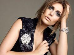 Elizabeth Olson - love the gray/purple eye makeup