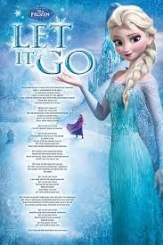 Frozen Movie Poster Let It Go Lyrics Princess Elsa Disney Idina Menzel Elsa Let It Go, Let It Go Lyrics, Frozen Let It Go, Frozen Elsa And Anna, Disney Frozen Elsa, Let It Be, Disney Magic, Frozen Poster, Frozen Songs