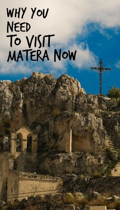 Matera is an amazing city full of caves and great food. Check out why you need to visit Matera NOW.