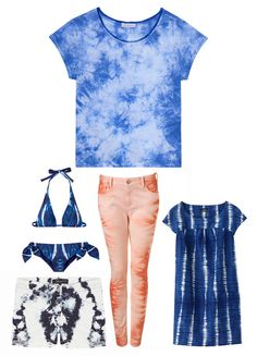 Tie-dye one of our favorite new trends for Summer 2012.  Vogue Paris