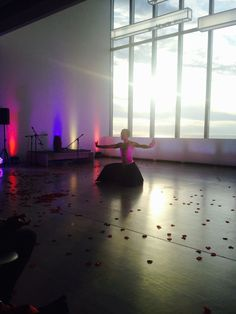 Ash dancing at Turner Contemporary for Summer of Colour