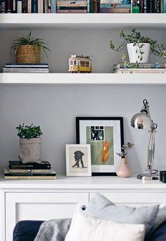 Urban Jungle Bloggers | A plant 'shelfie' | These Four Walls blog