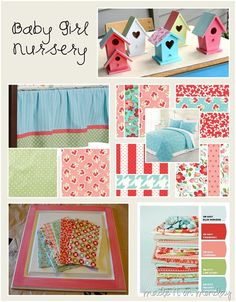 I like these colors and patterns.[baby%2520girl%2520nursery%2520inspiration%255B7%255D.jpg]
