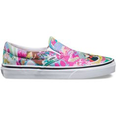 Vans Women's Classic Slip ($57) ❤ liked on Polyvore featuring shoes and apparel & accessories shoes