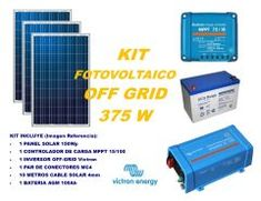 Kit Energía Solar Off Grid Full con Inversor Victron Energy – solorenergy Off Grid, Kit, Nature, Off The Grid