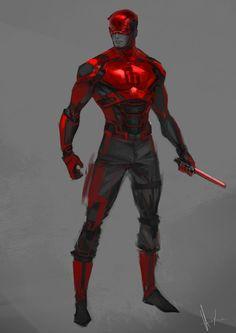 ArtStation - Daredevil rough concept (wip), Rose Davies