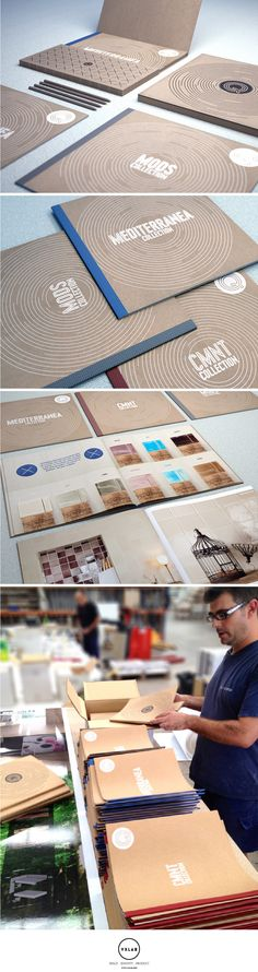 Catalogue: Brochure Set Design for Q Tiles. Design by VXLAB. www.vxlab.org