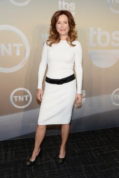 Mary McDonnell attends the TBS / TNT Upfront 2014 at The Theater at Madison Square Garden on May 14, 2014 in New York City