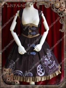 Sweet Cotten Infanta JSK Lolita Supporting breast skirt http://www.lolitadressesshop.com/punk-lolita-dresses-c-1_6.html?page=1&sort=2a