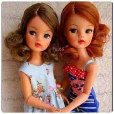 Sindy reroot by Jules. Her hair is Retro Dolls Hair. Vintage Girls, Vintage Barbie, Vintage Toys, Sindy Doll, Doll Toys, Ooak Dolls, Art Dolls, Tammy Doll, Play Barbie