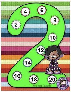 سهلي على طفلك حفظ جدول الضرب بطريقة محببة ✏️ جدول ضرب العدد 2