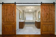 Bath Photos Contemporary Rustic Design, Pictures, Remodel, Decor and Ideas - page 13