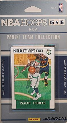 Boston Celtics 2015/2016 Panini Hoops NBA Basketball Brand New Factory Sealed Complete Licensed Team Set Featuring Marcus Smart, Evan Turner, Amir Johnson and Many More! for USD9.95 #Basketball Like the Boston Celtics 2015/2016 Panini Hoops NBA Basketball Brand New Factory Sealed Complete Licensed Team Set Featuring Marcus Smart, Evan Turner, Amir Johnson and Many More!? Get it at USD9.95!