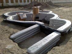 Earthbag bunker homes #bunkerplans