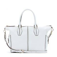 Tod's - D-Cube leather tote ned a white one