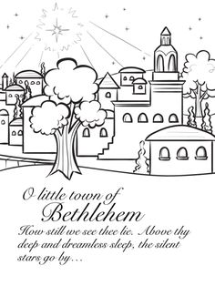 Bethlehem, but I think it would also be neat to draw an