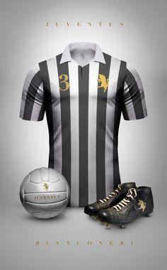99d0c8e8a9b05 Diseño  Camisetas de Fútbol Vintage.   Juventus Camisa Retro