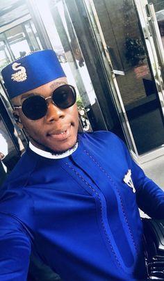 Stylish Wedding Suit Styles For Nigerian Men African Wear Styles For Men, African Shirts For Men, African Dresses Men, African Attire For Men, African Clothing For Men, Nigerian Men Fashion, African Print Fashion, Mens Fashion, Costume Africain