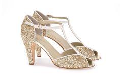 Mariage - Chaussures Anniel : Salomé pailletée