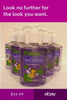 Hand Sanitizers Health Beauty Ebay Lavender Chamomile Hand