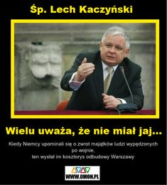 Kłamstwa Niemiec wyszły na jaw. Polska nigdy nie zrzekła się reperacji wojennych. Niemcy przez przypadek to ujawnili Polish Memes, I Want To Cry, Good People, Sentences, Haha, Jokes, Humor, Funny, Victorious