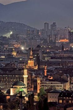 Sarajevo Montenegro, Rest Of The World, Travel Around The World, Macedonia, Albania, Monuments, Sarajevo Bosnia, Cities In Europe, European Tour