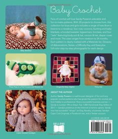 Amazon.com: Baby Crochet (9781416208464): Sandy Powers, Photography by Tara Renaud: Books